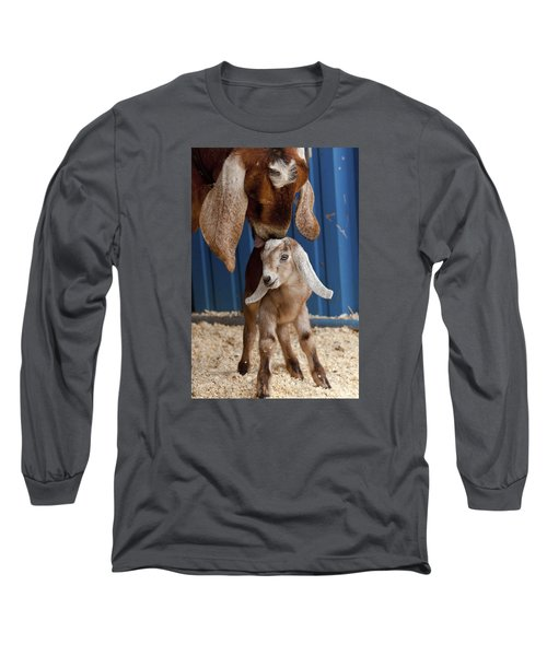 Licked Clean Long Sleeve T-Shirt by Caitlyn  Grasso