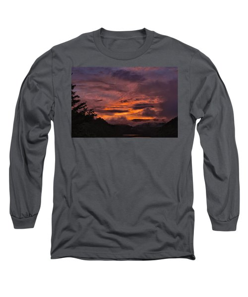 Light And Color Show Long Sleeve T-Shirt by Tom Culver