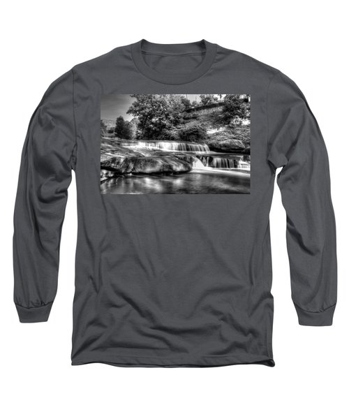 Light In Black And White Long Sleeve T-Shirt