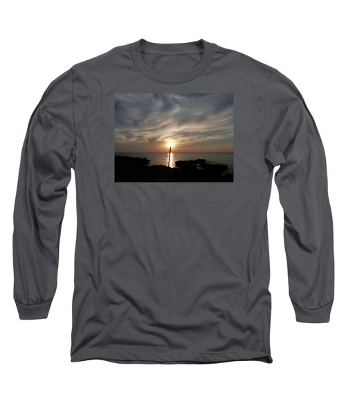 Light The Sun Long Sleeve T-Shirt by Amar Sheow