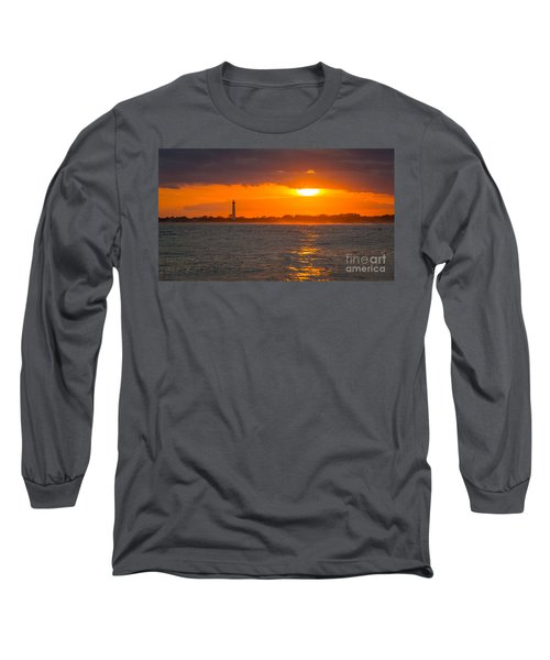 Lighthouse Sun Reflections Long Sleeve T-Shirt