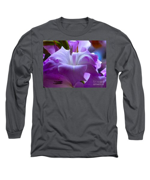 Lilac Flower Long Sleeve T-Shirt