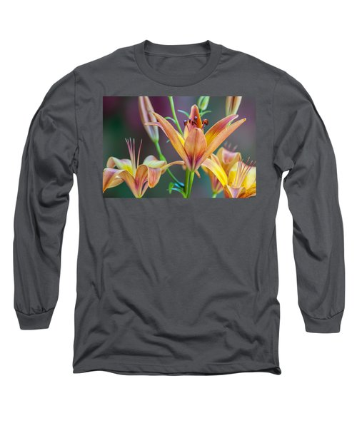 Lily From The Garden Long Sleeve T-Shirt