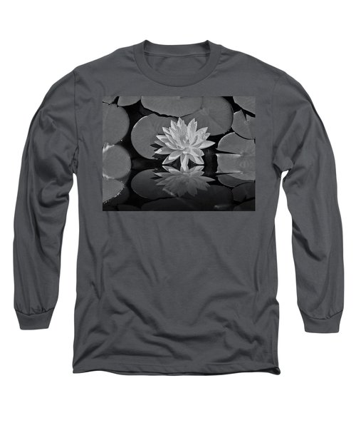 Lily On The Pond Long Sleeve T-Shirt