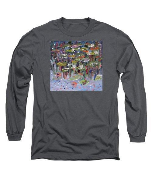 Lily Pad Life Long Sleeve T-Shirt by Michael Helfen