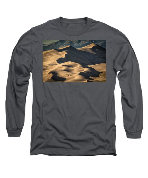 Lines And Sahdows Long Sleeve T-Shirt