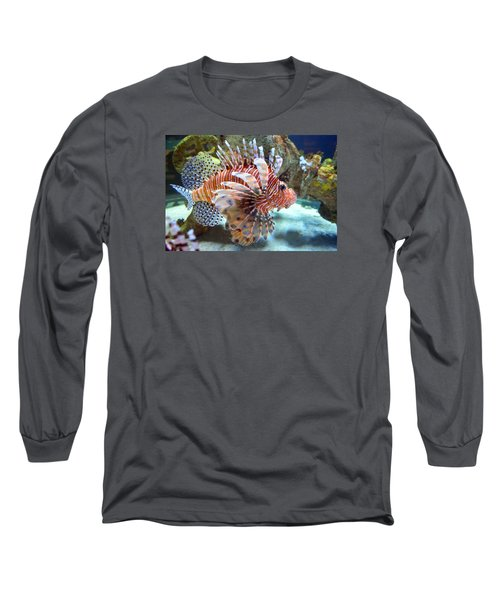 Lionfish Long Sleeve T-Shirt by Sandi OReilly