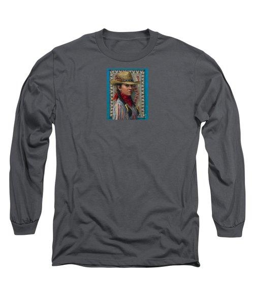 Little Rising Hawk Long Sleeve T-Shirt