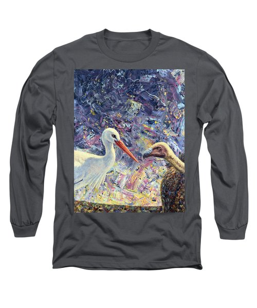 Living Between Beaks Long Sleeve T-Shirt