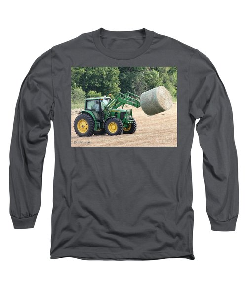 Loading Hay Long Sleeve T-Shirt by J McCombie