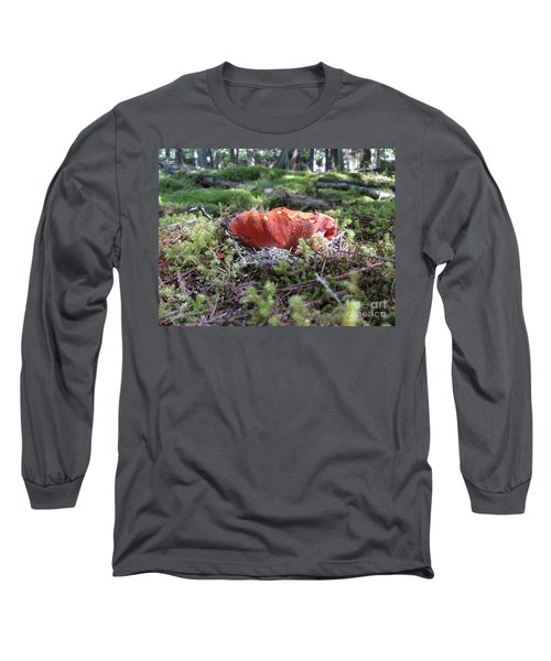 Lobster Mushroom Long Sleeve T-Shirt
