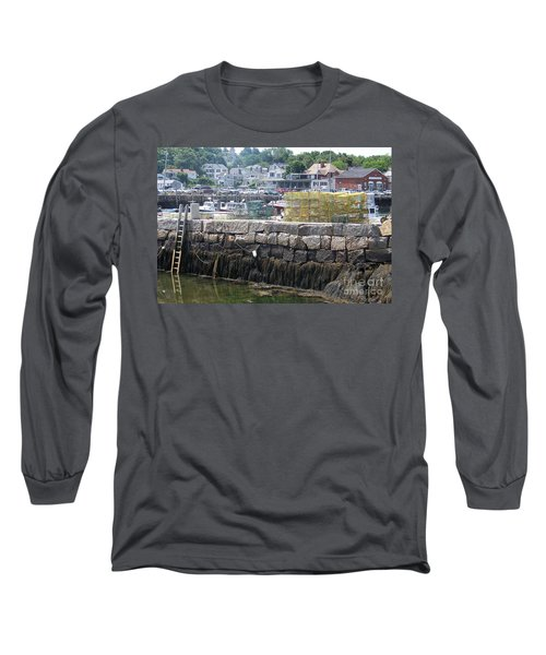 Long Sleeve T-Shirt featuring the photograph New England Lobster by Eunice Miller