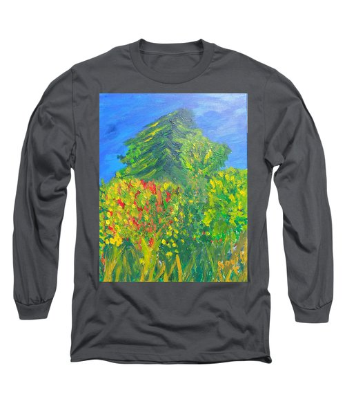 Local Trees Long Sleeve T-Shirt by David Trotter