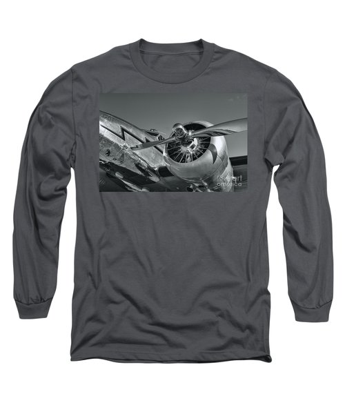Lockheed 12a Electra Junior  Long Sleeve T-Shirt