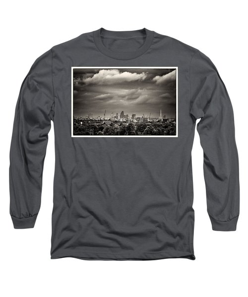 London Skyline From Hampstead Heath Long Sleeve T-Shirt