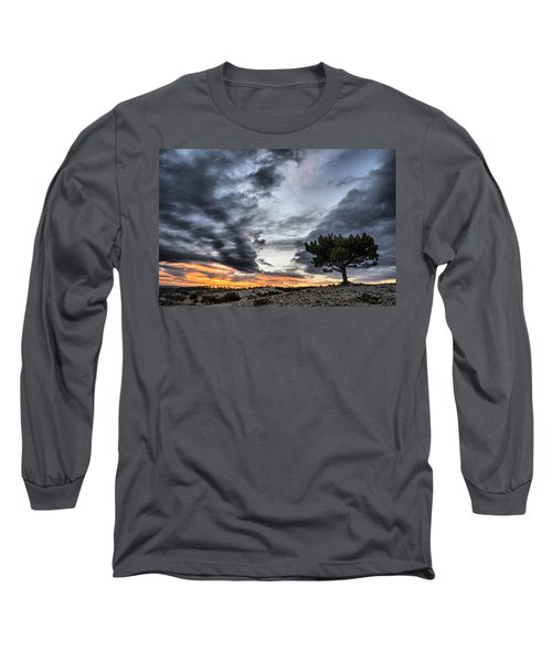Lonely Tree Long Sleeve T-Shirt