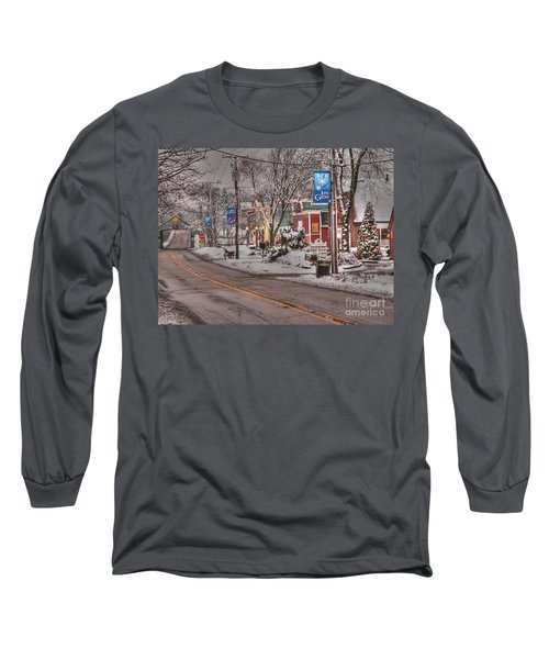 Long Grove In Snow Long Sleeve T-Shirt