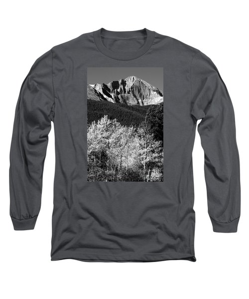 Longs Peak 14256 Ft Long Sleeve T-Shirt by James BO  Insogna