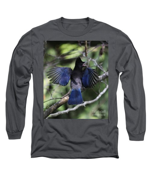 Look At My Wings Long Sleeve T-Shirt by Alyce Taylor