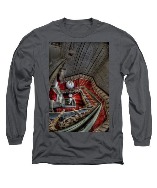 Looking Down On Beauty Long Sleeve T-Shirt by Nathan Wright