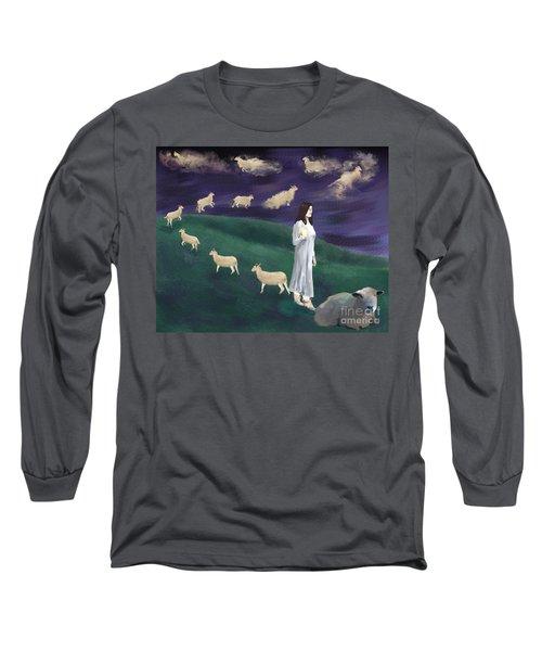 Looking For Sleep Long Sleeve T-Shirt