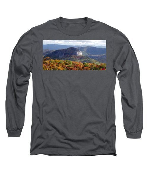 Looking Glass Rock And Fall Folage Long Sleeve T-Shirt