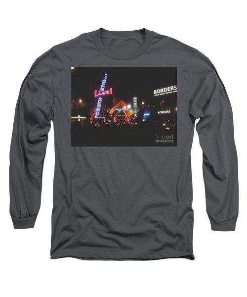 Louisville Kentucky Misty Nights Long Sleeve T-Shirt