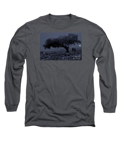 Love In Moon Light Long Sleeve T-Shirt