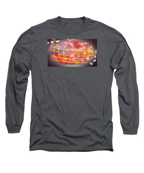 The Magnetic Field Of Love Long Sleeve T-Shirt