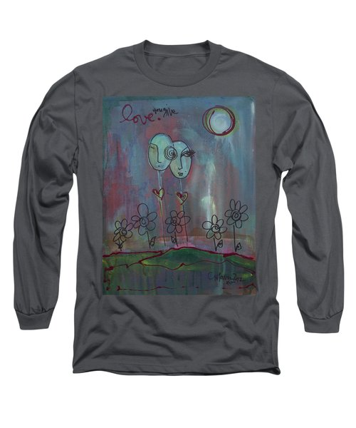Love You Give Lollipops Long Sleeve T-Shirt
