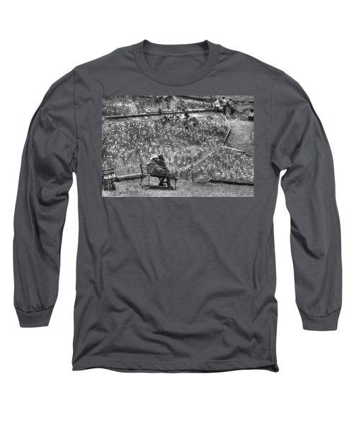 Lovers On Daffodil Hill Long Sleeve T-Shirt
