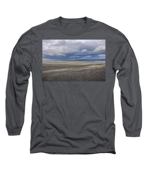 Low Tide Sandscape Long Sleeve T-Shirt