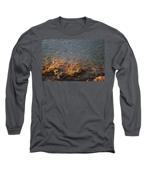 Long Sleeve T-Shirt featuring the photograph Low Tide by George Katechis