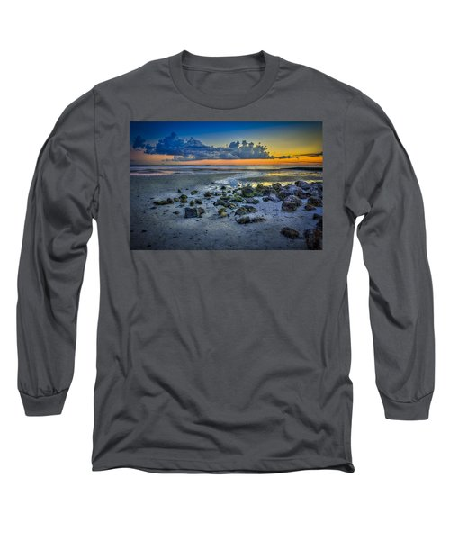 Low Tide On The Bay Long Sleeve T-Shirt