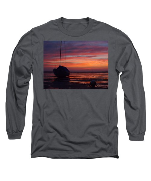 Sunrise At Low Tide Long Sleeve T-Shirt