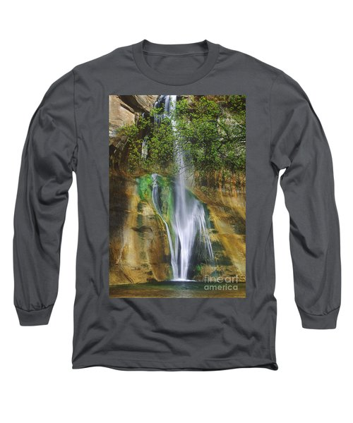 Lower Calf Creek Falls Escalante Grand Staircase National Monument Utah Long Sleeve T-Shirt