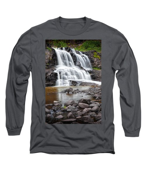 Lower Gooseberry Falls Long Sleeve T-Shirt