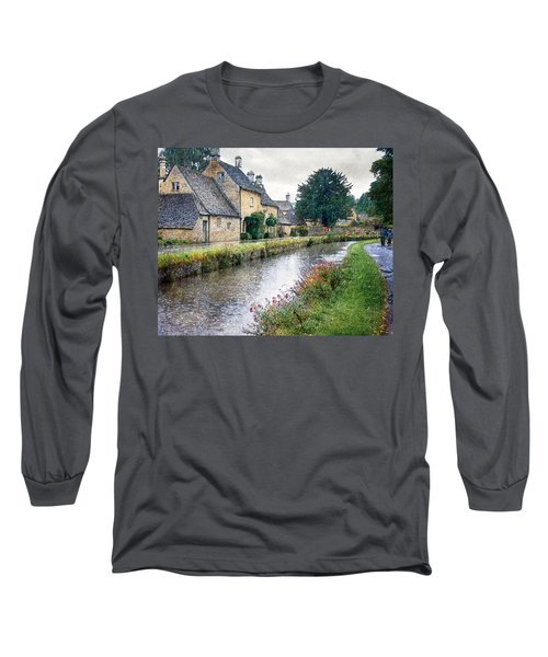 Lower Slaughter Long Sleeve T-Shirt by William Beuther