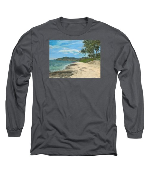 Lualualei Beach Long Sleeve T-Shirt