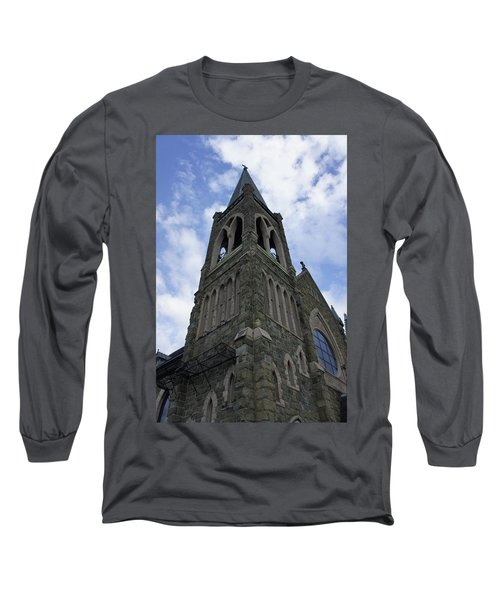 Long Sleeve T-Shirt featuring the photograph Luray Chapel by Laurie Perry