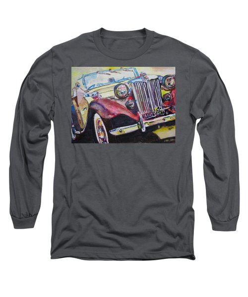 M G Car  Long Sleeve T-Shirt