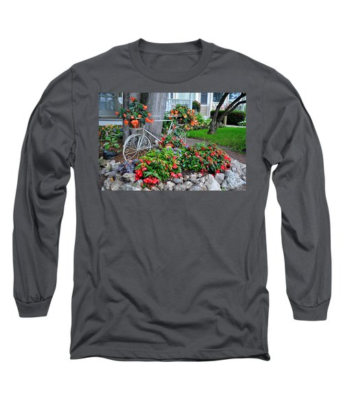 Mackinac Island Garden Long Sleeve T-Shirt