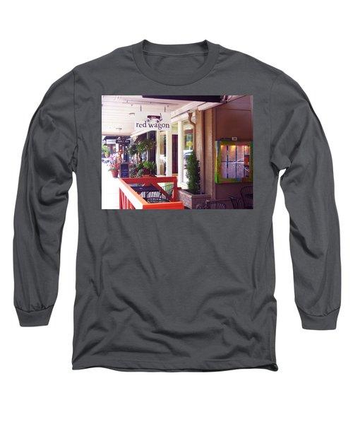 Madison Valley Street Scene 1 Long Sleeve T-Shirt