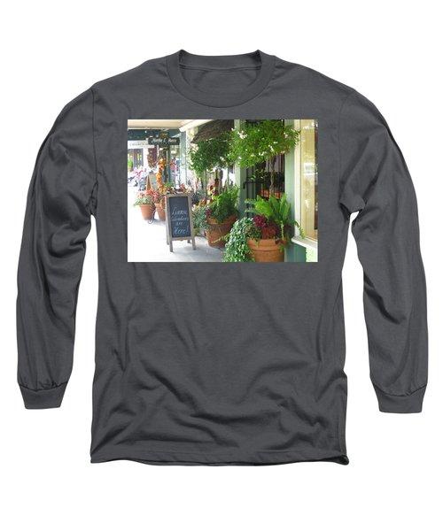 Madison Valley Street Scene 2 Long Sleeve T-Shirt