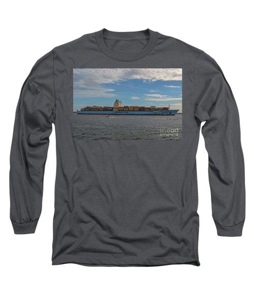 Ocean Going Freighter Long Sleeve T-Shirt