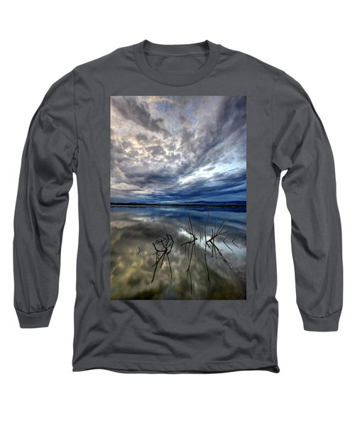 Magical Lake - Vertical Long Sleeve T-Shirt