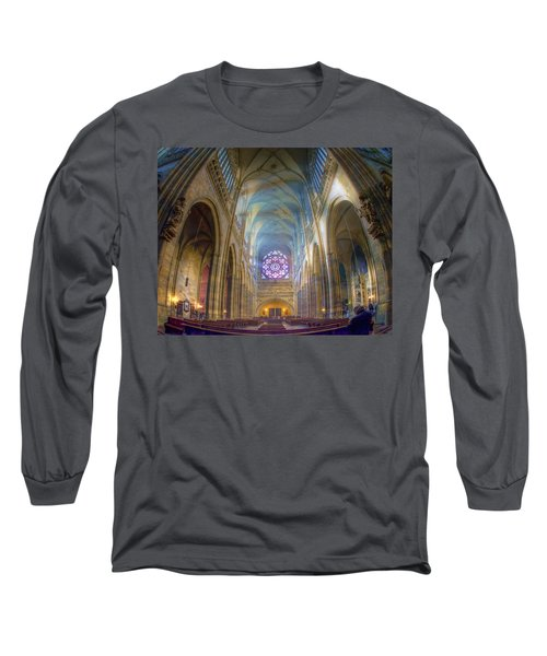 Magical Light Long Sleeve T-Shirt by Joan Carroll