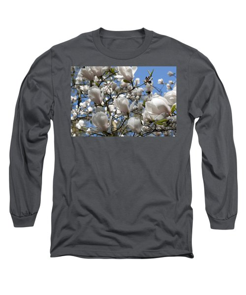 Long Sleeve T-Shirt featuring the photograph Magnolia by Lana Enderle
