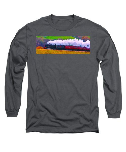Making The Grade Long Sleeve T-Shirt by Chuck Mountain