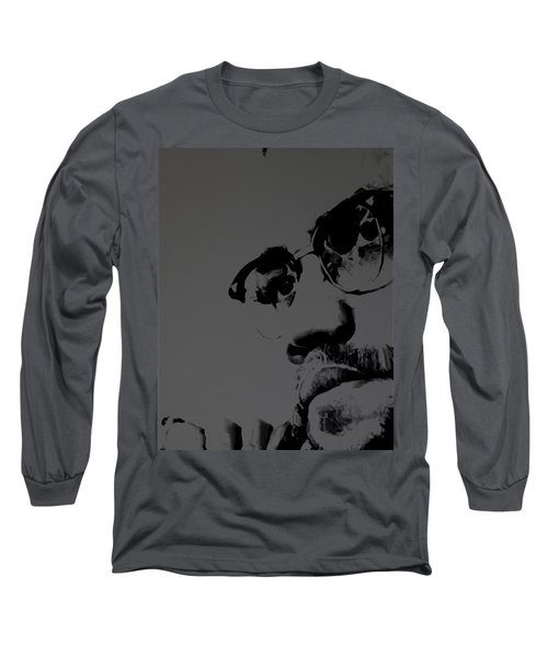 Malcolm X Long Sleeve T-Shirt by Brian Reaves